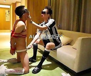 chinese twink hotel bondage..
