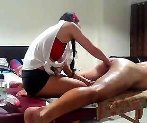Asian MILF gives Prostate..