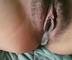 Morning creampie for my..