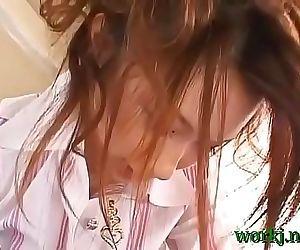 Stimulation of a sexy asian..
