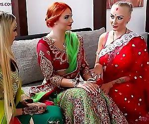 Pre-wedding Indian bride..