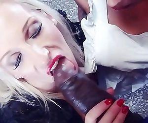 Black Cock Sunny Leone..