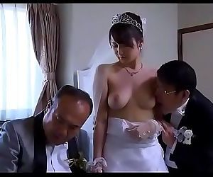 Asian Milf wife get stripped..
